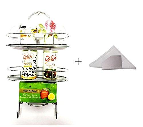 Combo Kitchen Shelf & Tissue Paper Holder