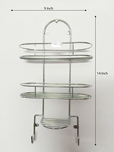 Wall Mounted Steel Bathroom Shelf