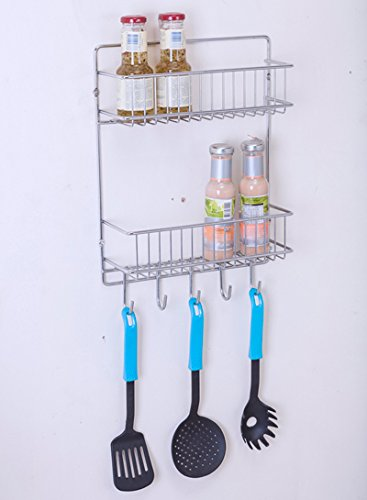 Wall Mounted Steel Kitchen Keeper/ Rack