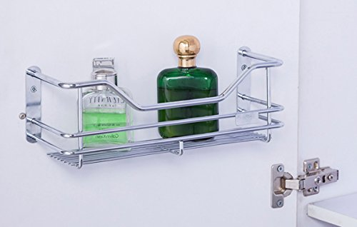 Stainless Steel Wall Mounted Bathroom Shelves