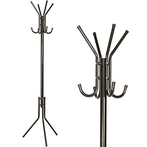 Wrought Iron Coat Rack Hanger