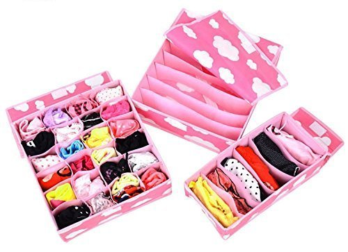 Set of 3 Inner wear Organiser/ Storage Organiser