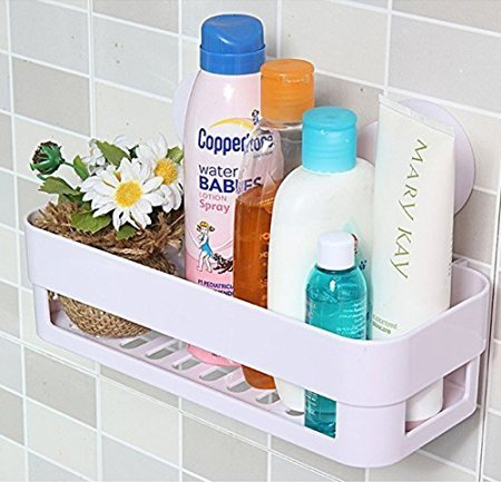 Plastic Bathroom Racks and Shelves
