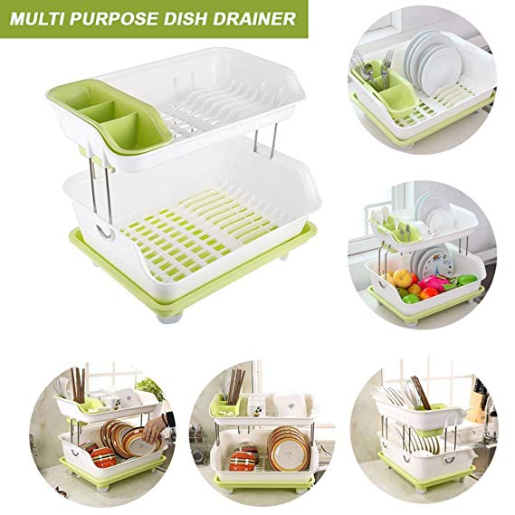 Dish Drainer, Dish Rack, Dishrack, Plastic Dishracks