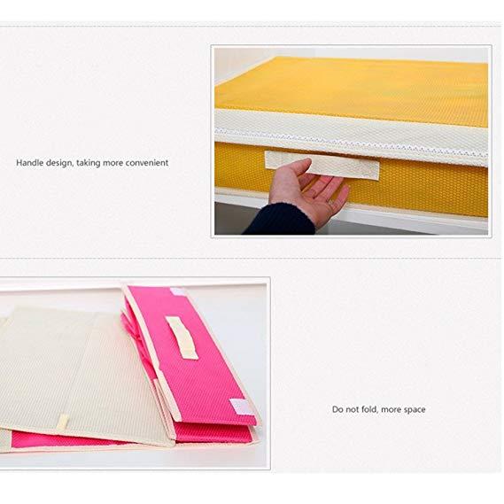 Multi Compartment Foldable Storage Box,Closet Organiser