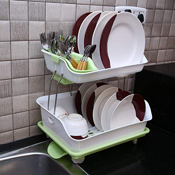 Dish Drainer, Dish Rack, Dishrack, Plastic Dishracks