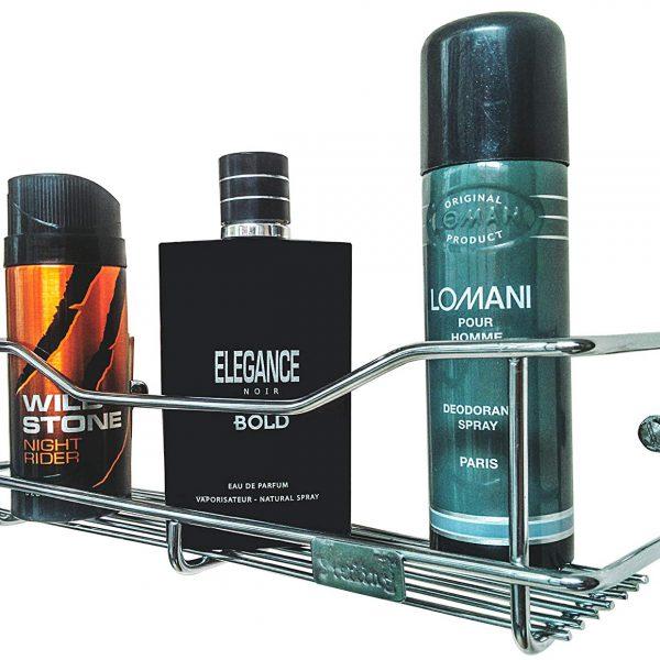 Bathroom Wall Shelves, Stainless Steel Bathroom Racks, Wall Mounted Steel Bathroom Shelf, Wall Shelves