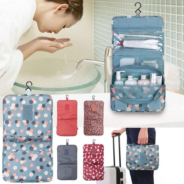 Portable Hanging Toiletry Bag, Storage Organiser
