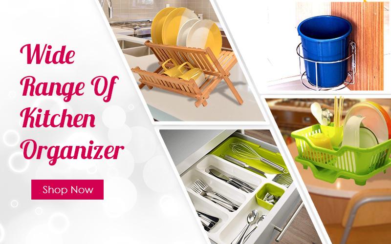 kitchen organisers, kitchen racks online in india