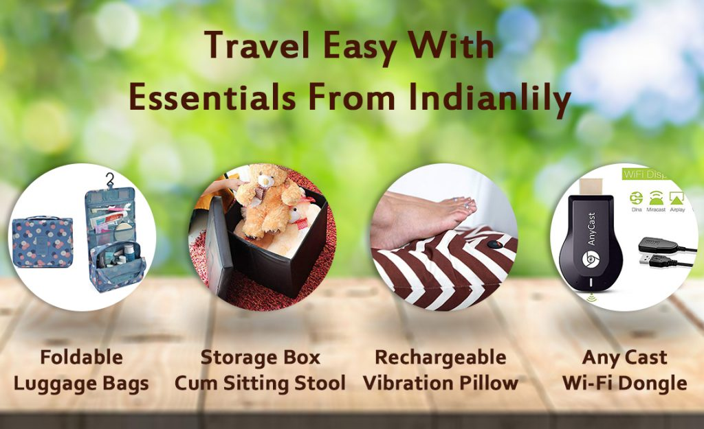 Travel bags, Foldable luggage bags, storage box, rechargeable vibration pillow