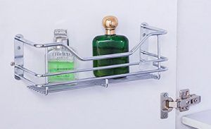 wall mounted steel racks & shelves, stainless steel wall mounted racks & shelves, bathroom organisers