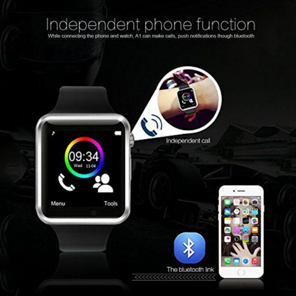 a1 smartwatch, a1 bluetooth smartwatch, apple clone watch, smartwatch with sim card slot