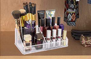 makeup organiser, makeup storage stand