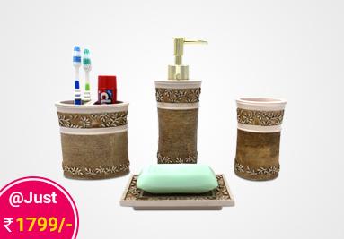 soap dispenser, bathroom soap dispenser, bathroom soap dispenser set, soap dispenser set,  bathroom dispenser, bathroom accessories, bathroom accessories online, complete bathroom sets