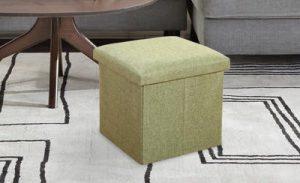 Storage Box cum stool, ottoman stools, storage stool, storage organisers
