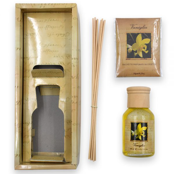 Essential Oil Air Freshener with Reed Sticks
