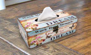 Tissue Paper box holder
