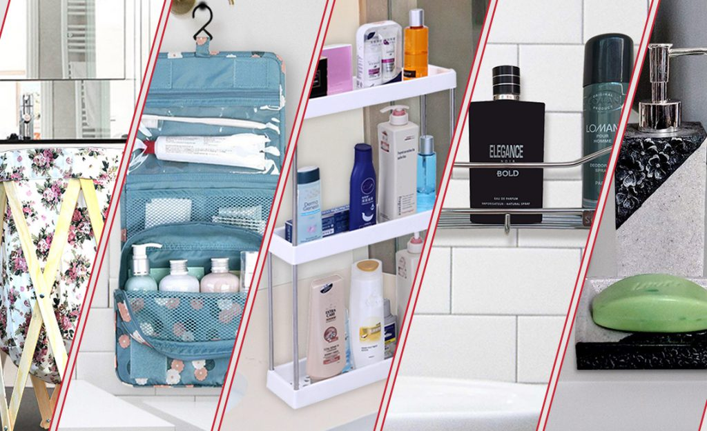 clever & stylish bathroom storage ideas, indianlily