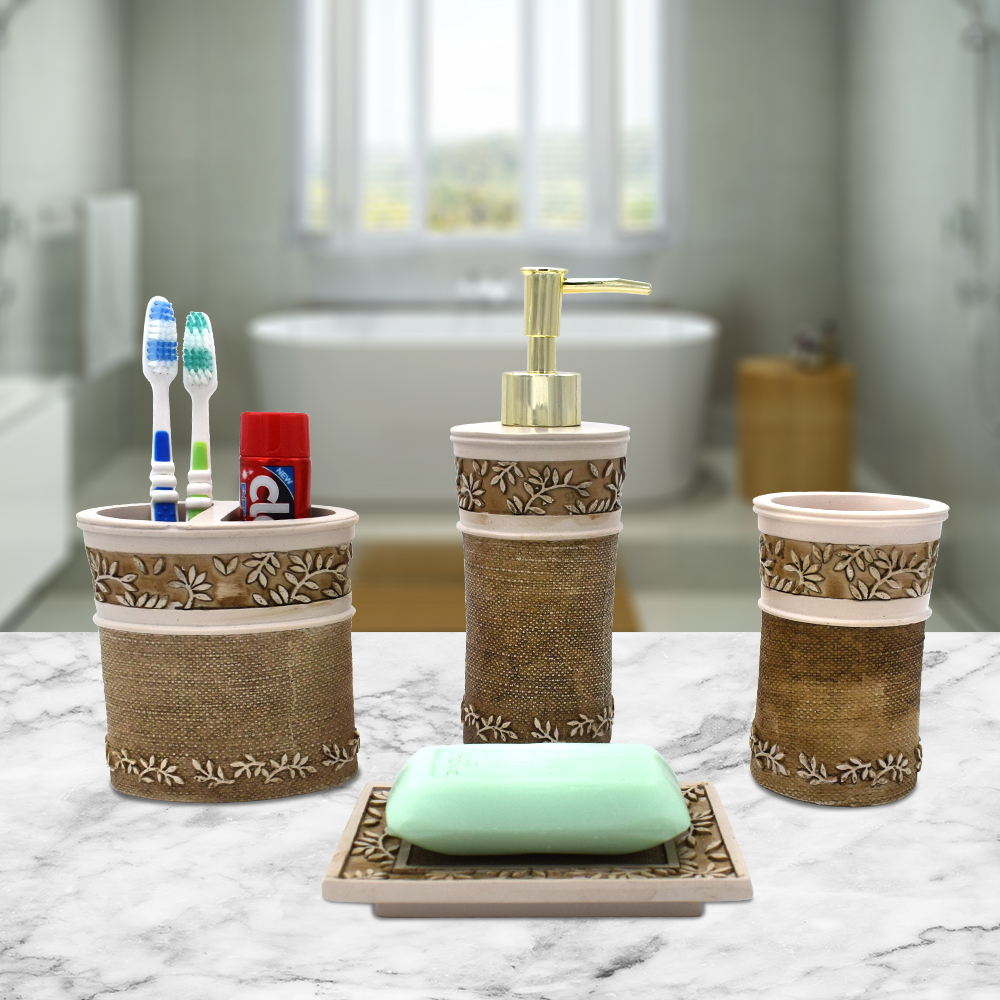 4 Piece Bathroom Set