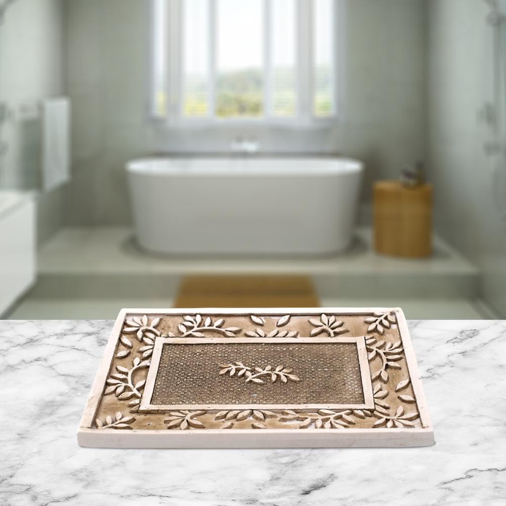Designer Soap Dispenser Set