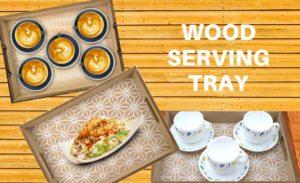wood serving tray, serving tray, wooden serving tray, wood serving tray online, wood serving platter